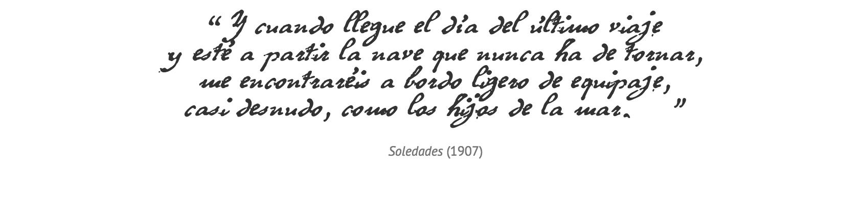 La Barcelona de Antonio Machado